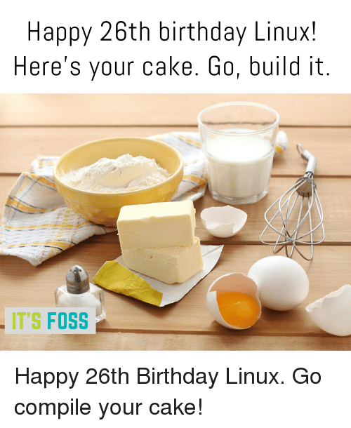 Heres Your Cake Linux