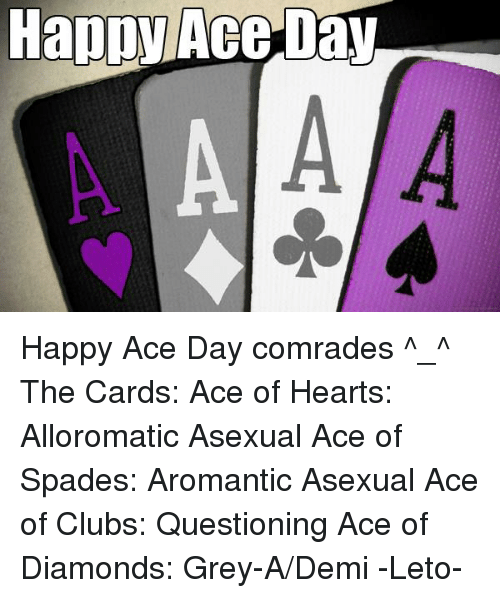 Ace of diamonds asexual reproduction