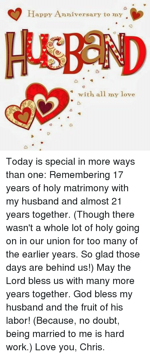 Happy Anniversary To My Husband With All My Love Today Is Special In