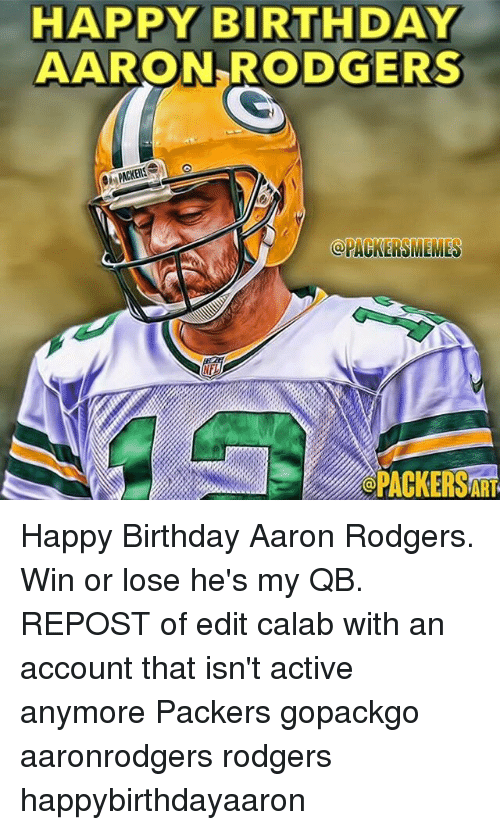 25 Best Memes About Birthday Green Bay Packers And Happy