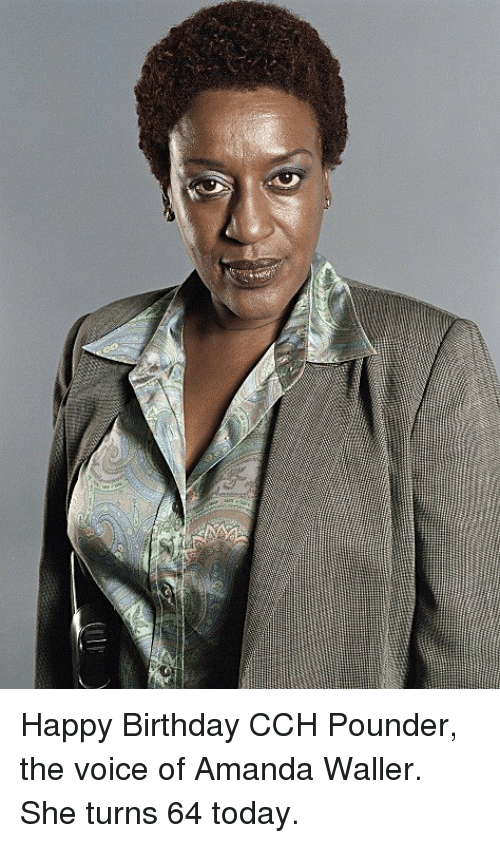 CCH Pounder looks like bill cosby