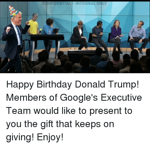 Birthday, Donald Trump, and Happy Birthday