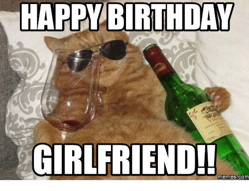 Happy Birthday Girlfriend Meme