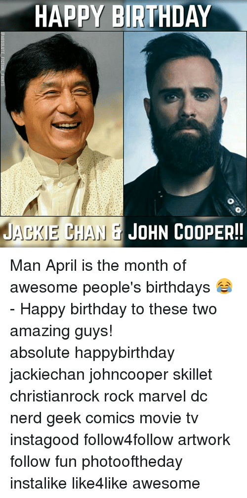 happy birthday jaeke chan john cooper man april is the 18710487 ✅ 25 best memes about cooper manning cooper manning memes