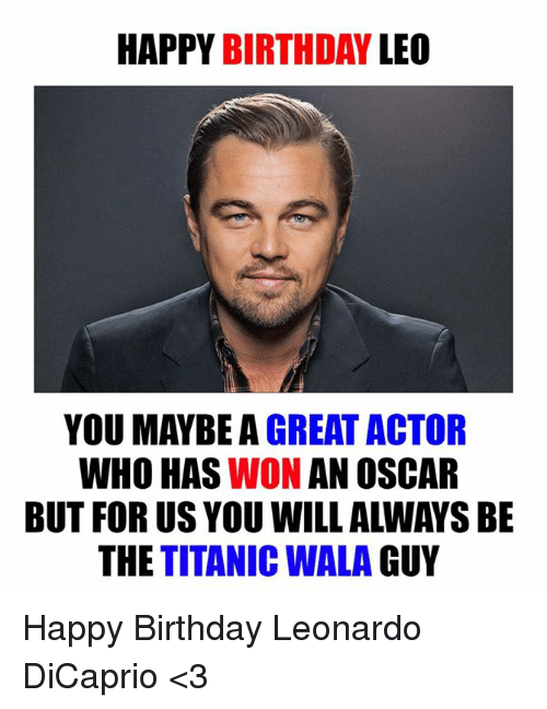 great actor
