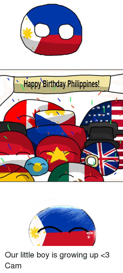 Happy Birthday Philippines I Our Little Boy Is Growing Up 3 Cam