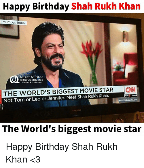 Biggest Movie Star In The World