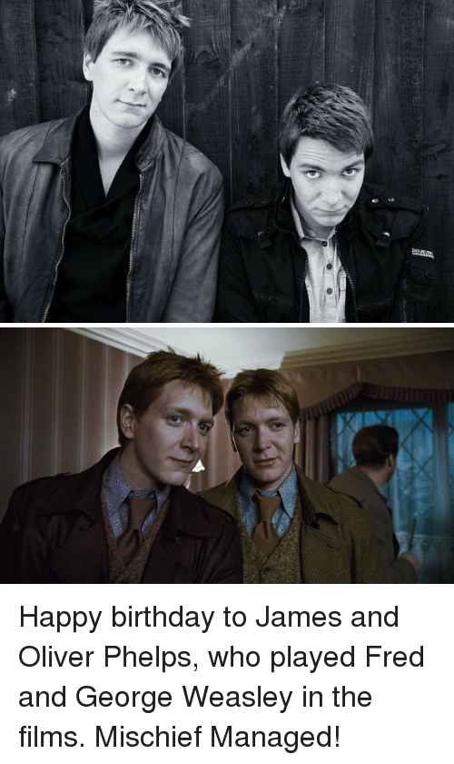 who plays fred and george weasley