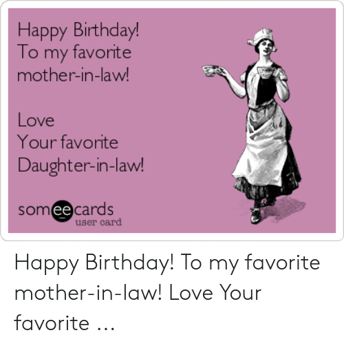 Birthday Love And Happy To My Favorite Mother