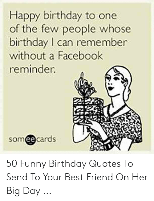 Happy Birthday to One of the Few People Whose Birthday I Can ...
