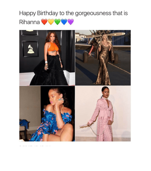 Birthday, Rihanna, and Happy Birthday: Happy Birthday to the gorgeousness that is  Rihanna ⠀