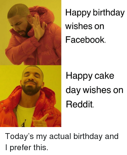 Birthday Facebook And Funny Happy Wishes On Cake Day