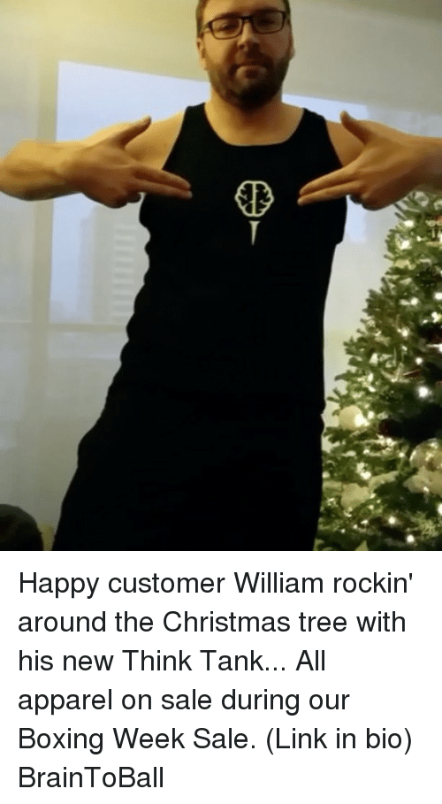 Happy Customer William Rockin Around The Christmas Tree With His