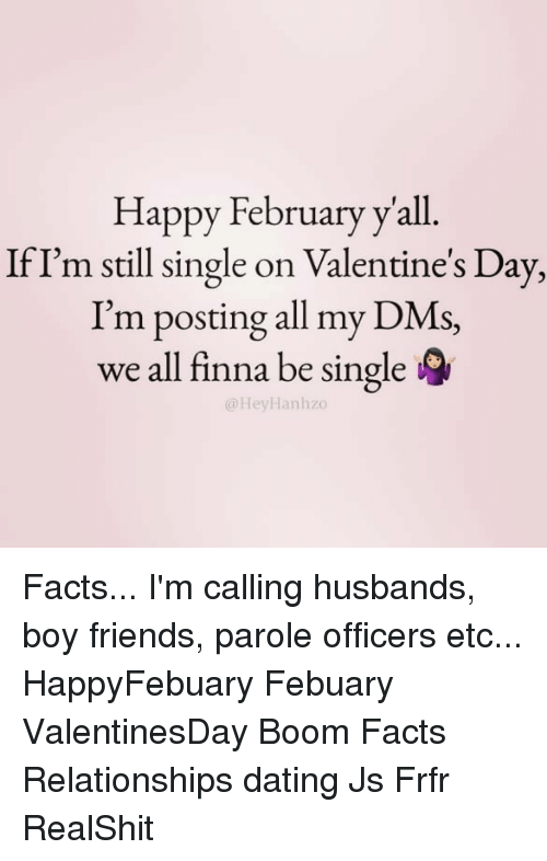 we just started dating and its valentines day