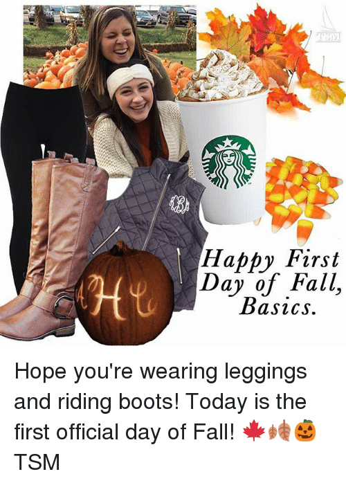 happy first day of fall basics hope youre wearing leggings 249619 ✅ 25 best memes about an apple a day keeps the doctor away an