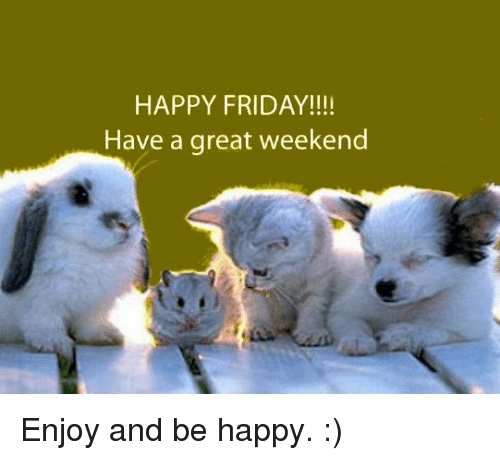 memes and weekend happy friday have a great weekend enjoy and
