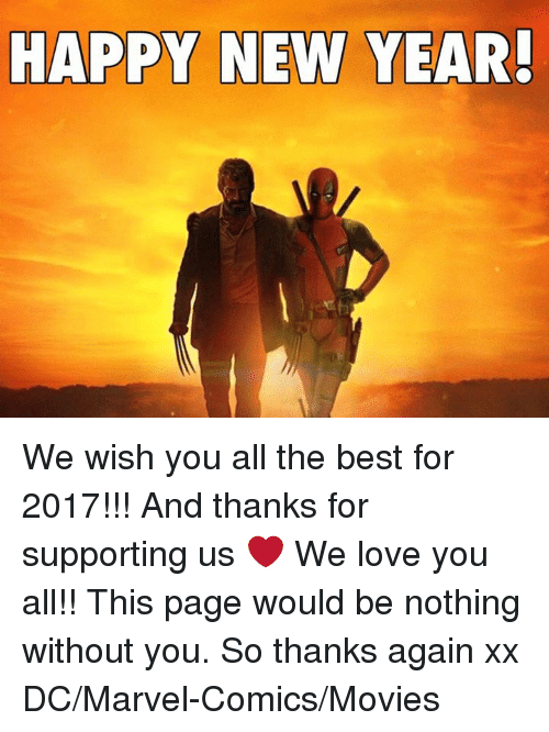 marvel comics memes and marvel happy new year we wish you all
