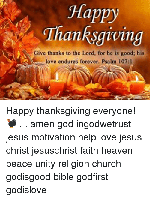 Religious Images Happy Thanksgiving Memes