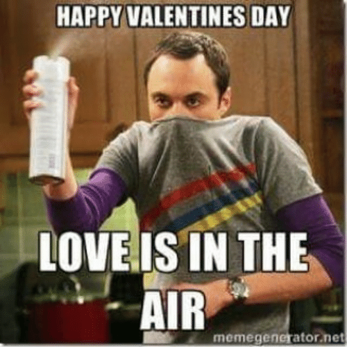 Perfekt Love, Meme, And Memes: HAPPY VALENTINES DAY LOVE IS IN THE AIR Meme  Generator Net