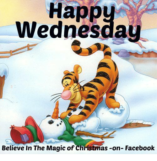 Happy Wednesday Believe In The Magic Of Christmas On Facebook