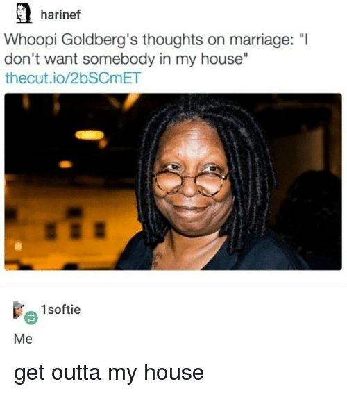 Harinef Whoopi Goldberg S Thoughts On Marriage Don T Want Somebody