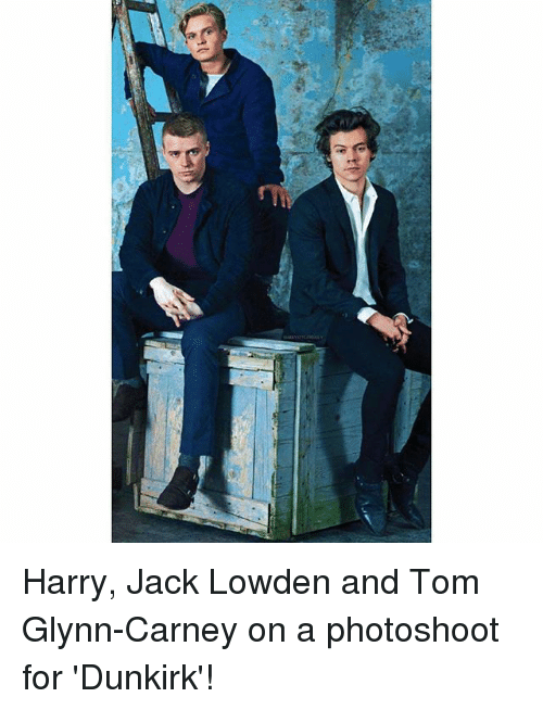 Harry Jack Lowden And Tom Glynn Carney On A Photoshoot For Dunkirk Meme On Me Me
