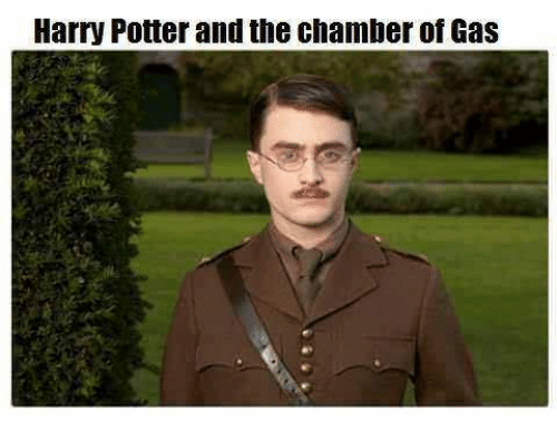 Harry Potter and the Chamber of Gas   Harry Potter Meme on