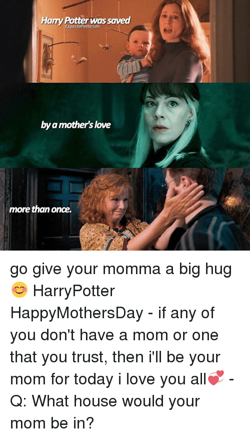 Harry Potter Was Saved Potterum By Mothers Love A More Than Once Go