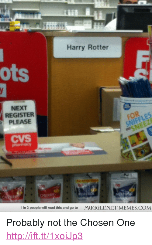 harry rotter ots next register please cvs cherry 1 in 3 people will
