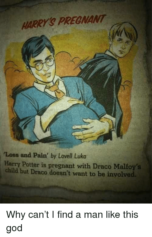 HARRY'S PREGNANT Loss and Pain' by Lovell Luka Harry Potter