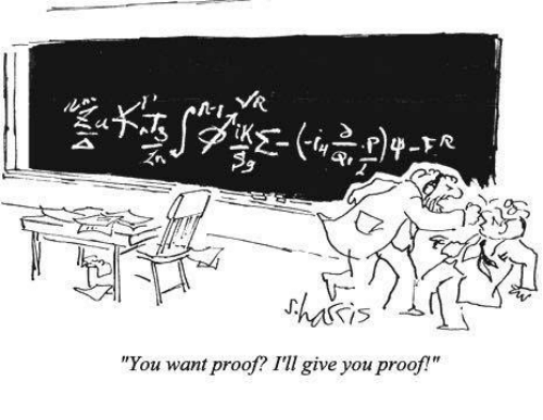 """Memes, 🤖, and Proof: has is  """"You want proof? I'll give you proof!"""""""