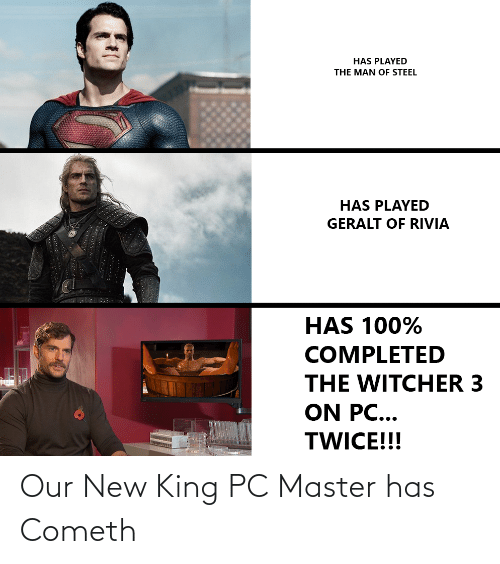 Has Played The Man Of Steel Has Played Geralt Of Rivia Has