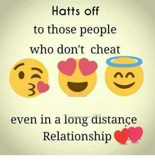 Hatts Off to Those People Who Don't Cheat Even in a Long