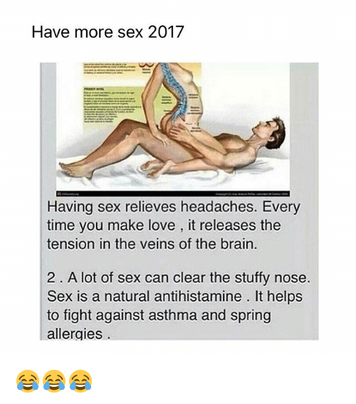 Sex and allergies
