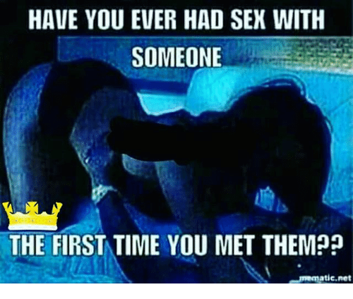 Have you had sex