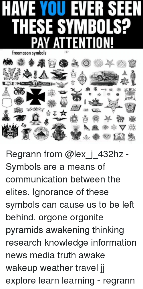 Have You Ever Seen These Symbols Pay Attention Freemason Symbols