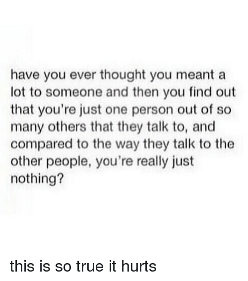 Have you ever thought of?