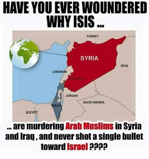 HAVE YOU EVER WOUNDERED WHY ISIS TURKEY SYRIA IRAQ LEBANON
