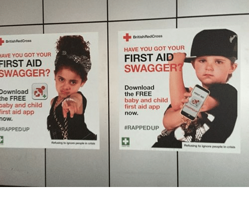 HAVE YOU GOT YOUR FIRST AID SWAGGER? Download Baby and Child First