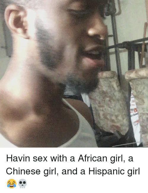 Chaines garil sex with african main can