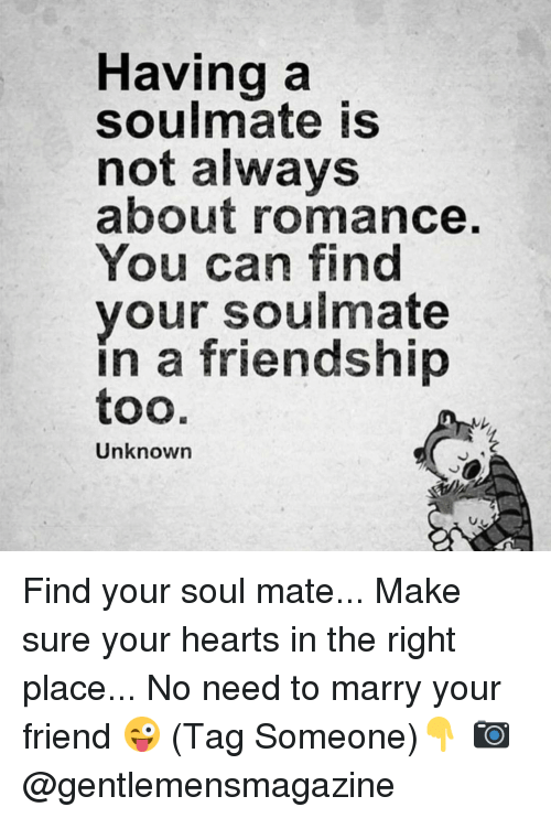 Should you marry your soulmate