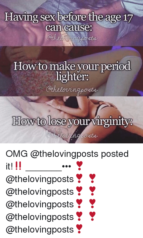 Having sex before your period pic