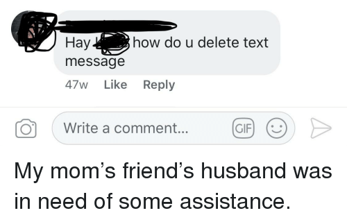 My husband is deleting text messages