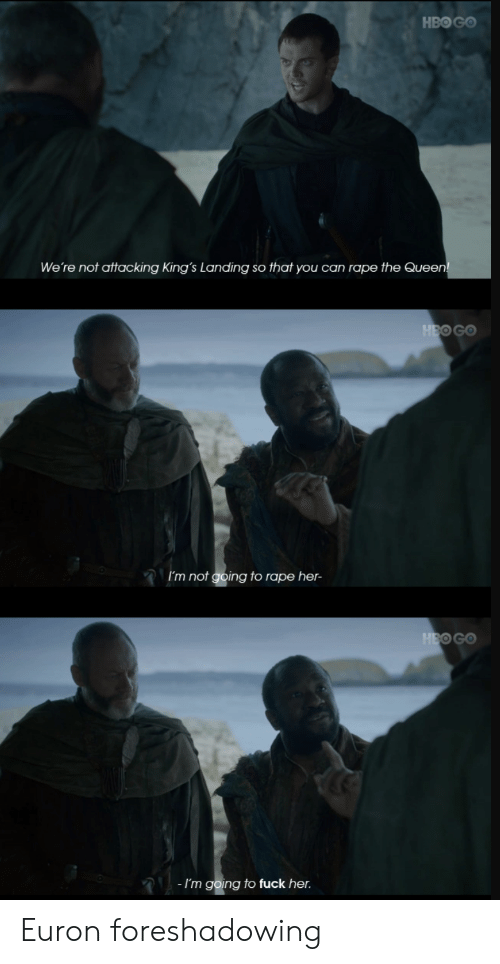 HBO GO We're Not Attacking King's Landing So That You Can