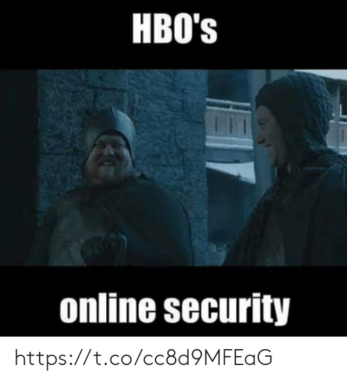 Online, Security, and Hbos: HBO's  online security https://t.co/cc8d9MFEaG