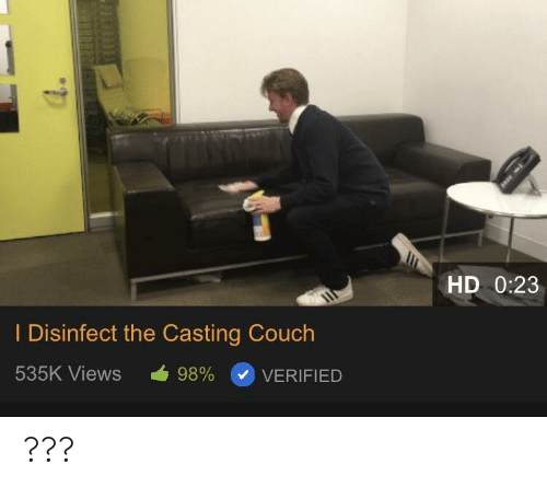 Strange Hd 023 I Disinfect The Casting Couch 535K Views 98 Onthecornerstone Fun Painted Chair Ideas Images Onthecornerstoneorg