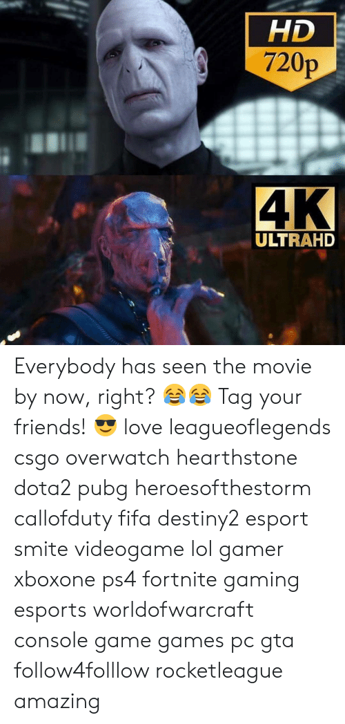 Fifa, Friends, and Lol: HD  720p  ULTRAHD Everybody has seen the movie by now, right? 😂😂 Tag your friends! 😎 love leagueoflegends csgo overwatch hearthstone dota2 pubg heroesofthestorm callofduty fifa destiny2 esport smite videogame lol gamer xboxone ps4 fortnite gaming esports worldofwarcraft console game games pc gta follow4folllow rocketleague amazing
