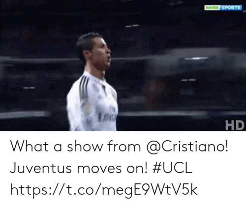 Memes, Juventus, and 🤖: HD What a show from @Cristiano!  Juventus moves on! #UCL https://t.co/megE9WtV5k