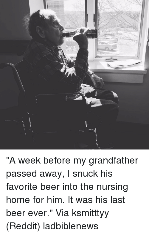 grandfather passed away