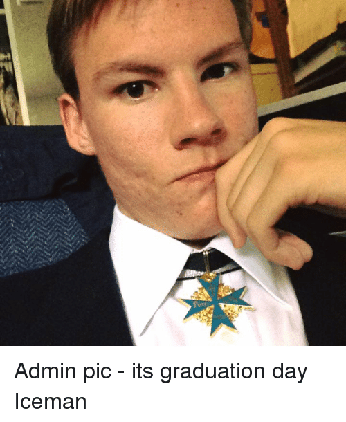 its graduation day